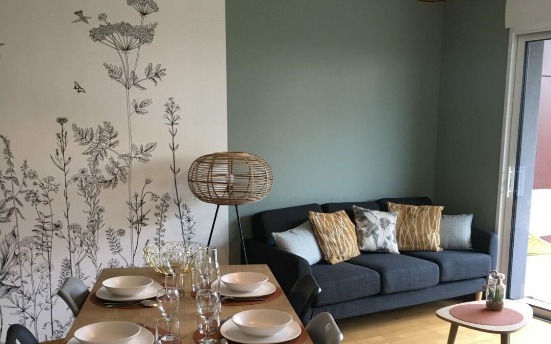 Accompagnement décoration et aménagement clé en main pour un appartement à Vannes