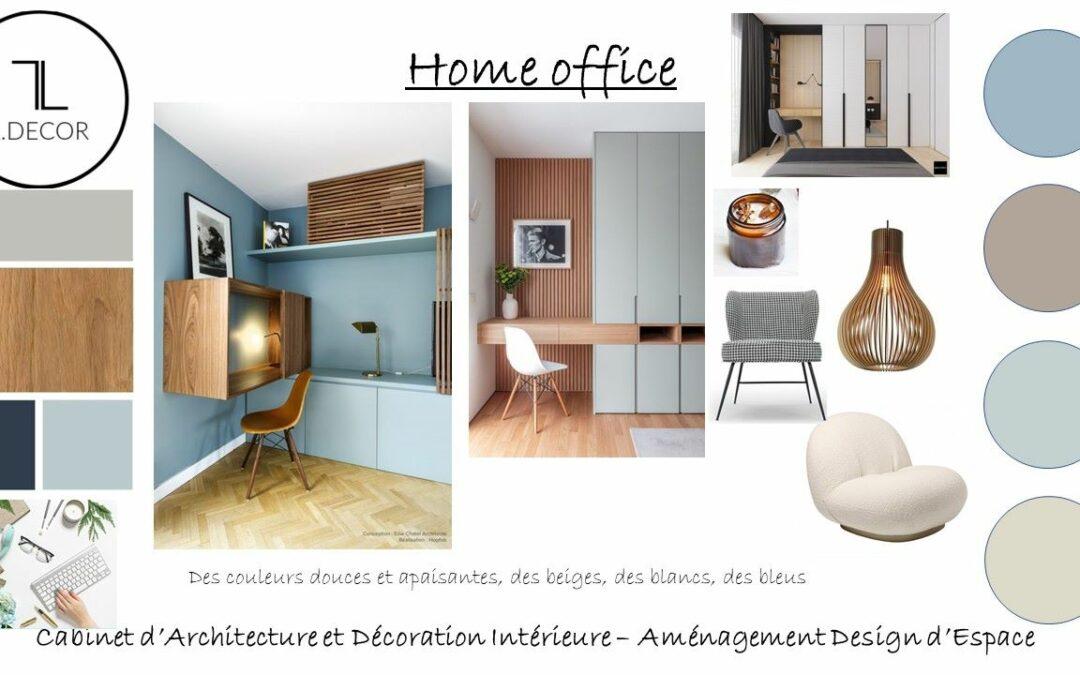 Projet d'aménagement d'un Home Office