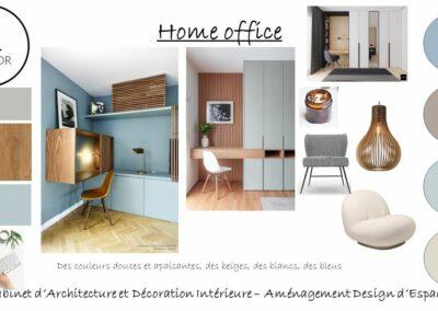 PROJET D'AMENAGEMENT D'UN HOME OFFICE