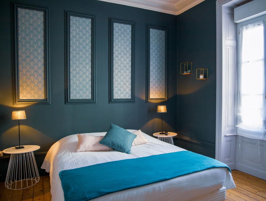 architecture d'intérieur chambre suite parentale Morbihan Vannes