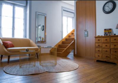 Décoration et aménagement d'un loft  à Vannes